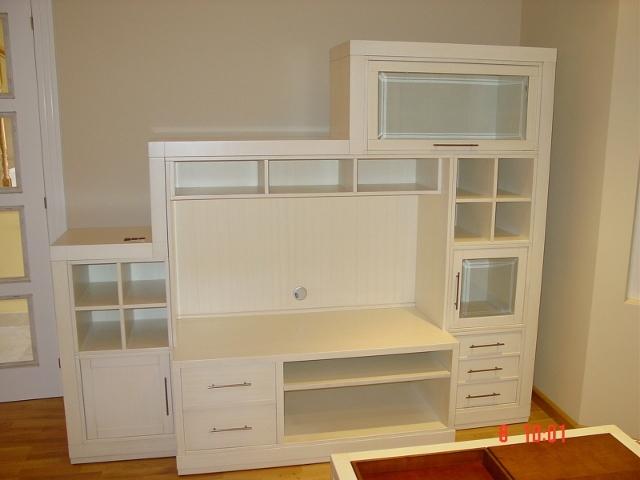 Ebanister a en le n tienda de muebles en le n - Muebles de salon en blanco roto ...