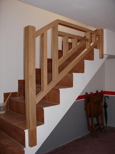 Escaleras escaleras for Escaleras de madera en u